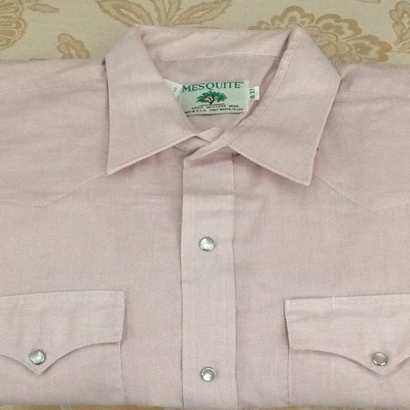 Mesquite Niver Western Wear Shirts Made In Usa Ft Worth